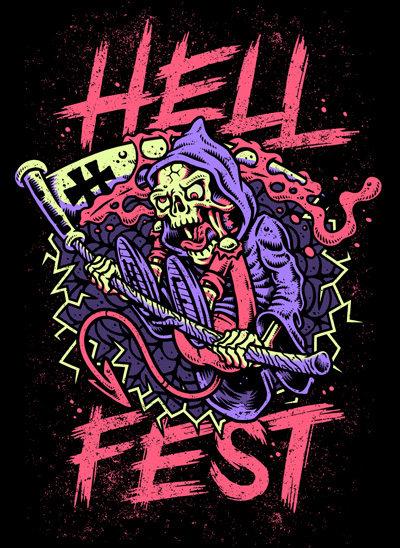 Hellfest 2019 Reaper Tshirt