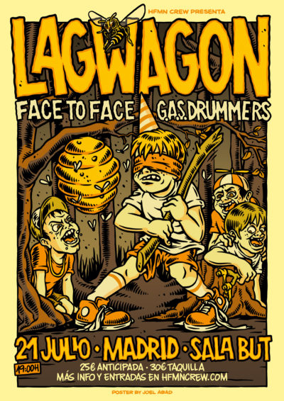 Lagwagon, Madrid 2017