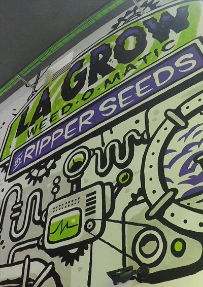 La Grow, Weed-o-matic
