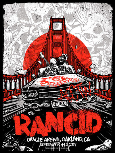 Rancid @ Oakland 2019